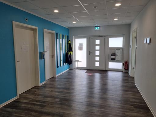 Eingangsbereich - hier fühlt sich jeder Willkommen