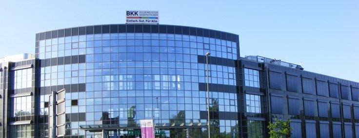 Gebäude der Geschäftsstelle Bielefeld