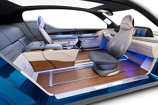 Vision Fahrzeuginnenraum