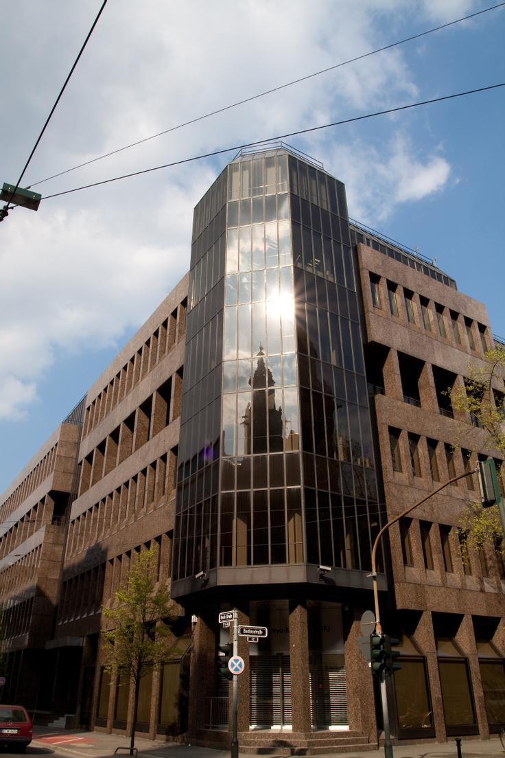 Firmeneingangsbereich Breite Str. 34