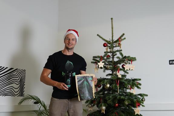 Gründer René Seppeur Weihnachten