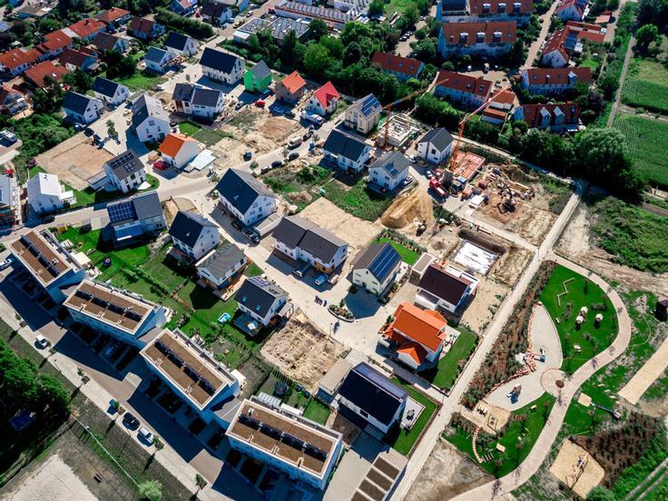 Projekt Baugebiet Moorblick