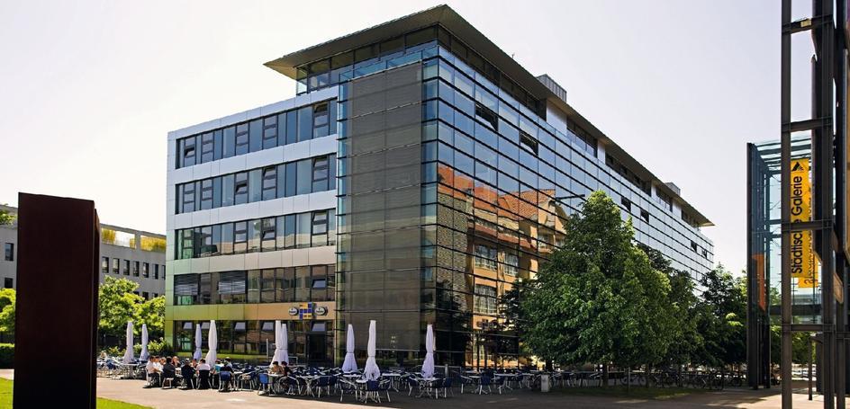 Bürogebäude in Karlsruhe