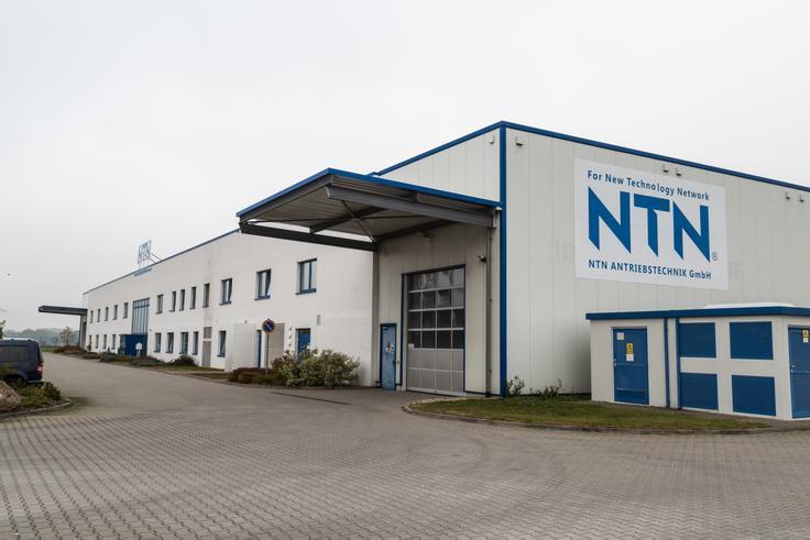 NTN Antriebstechnik GmbH Unternehmenskomplex, Büros mit Produktionshalle